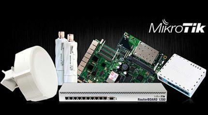 Penggunaan MikroTik RouterBoard pada Jaringan Internet