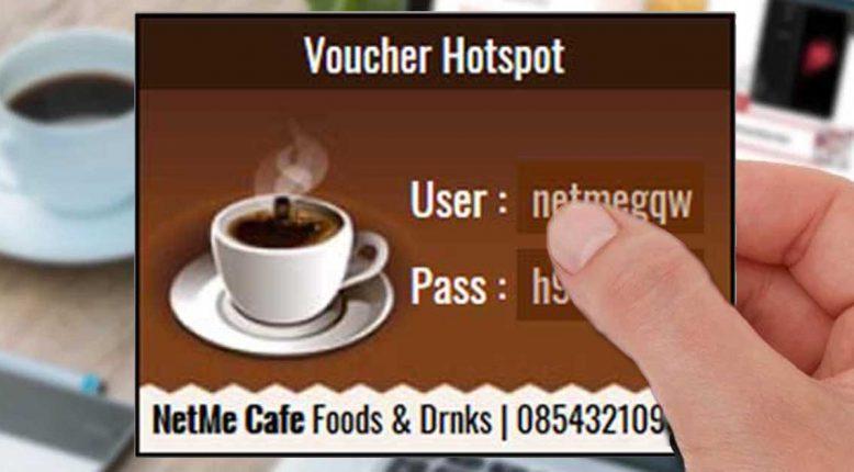 Template Voucher Hotspot MikroTik untuk Cafe dan Warkop