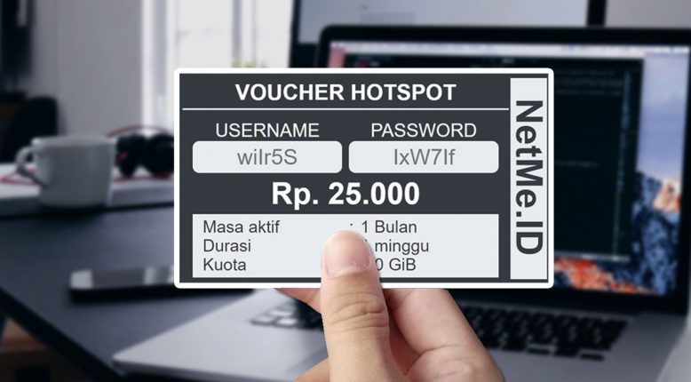 Simple - Template Voucher Hotspot MikroTik User Manager